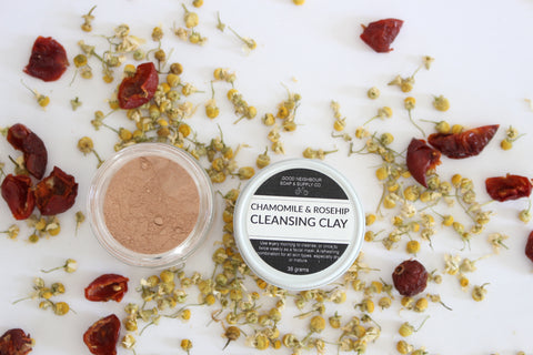 Chamomile & Rosehip Cleansing Clay & Mask