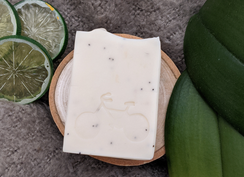 Rosemary, Lime + Poppyseed Hand & Body Bar