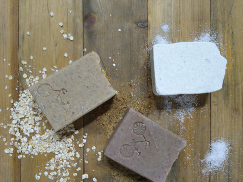 Exfoliating Soap Trio | Natural Soap