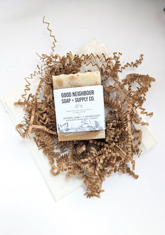 Honey + Oatmeal | Natural Soap