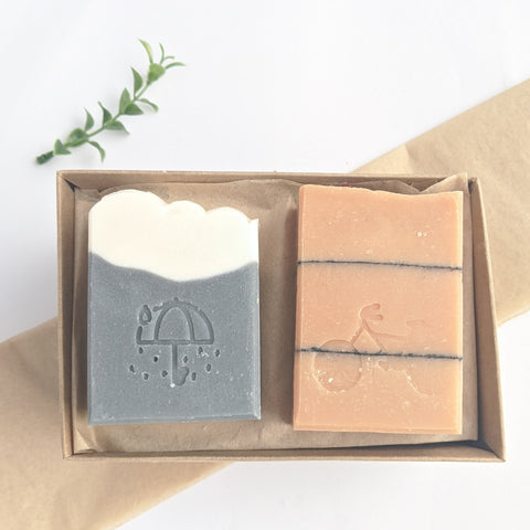 April Showers Bring May Flowers: Natural Soap Duo