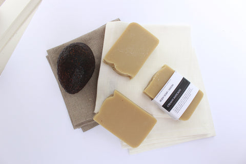 Creamy Avocado + Lemongrass I Natural Soap