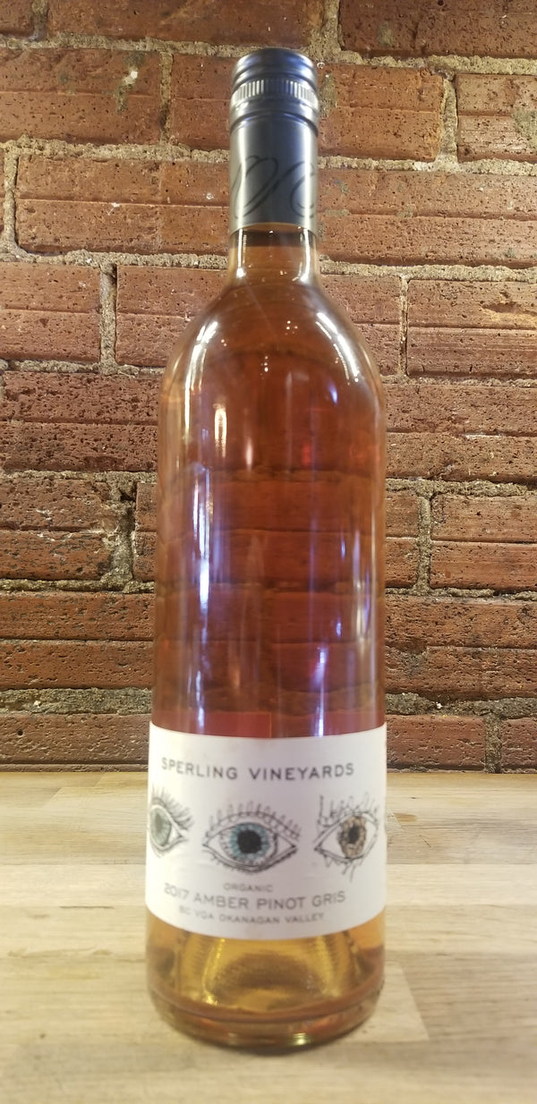 SPERLING VINEYARDS NATURAL AMBER