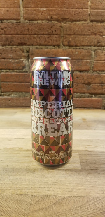 EVIL TWIN HAZELNUT CHILI BISCOTTI BREAK