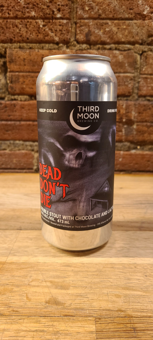 THIRD MOON DEAD DON'T DIE PEANUT BUTTER