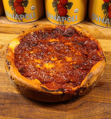 "WEST LOOP ""CHICAGO STYLE"" PEPPERONI DEEP DISH PIZZA"