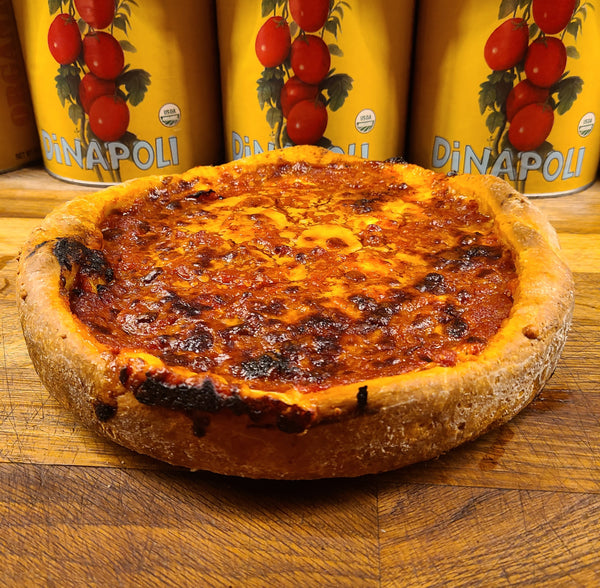"WEST LOOP ""CHICAGO STYLE"" DEEP DISH CHEESE PIZZA"