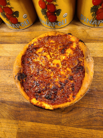 "WEST LOOP ""CHICAGO STYLE"" SAUSAGE DEEP DISH PIZZA"
