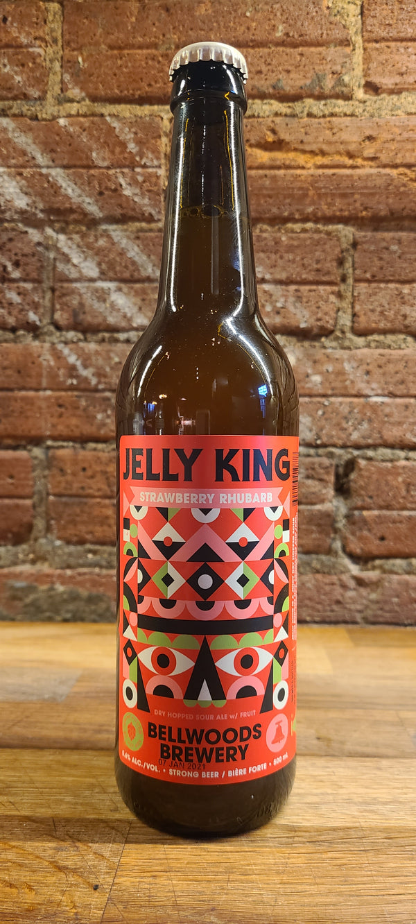 BELLWOODS JELLY KING STRAWBERRY RHUBARB