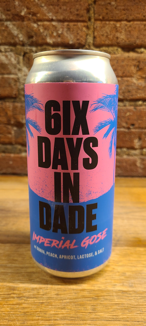 "BELLWOODS x J.WAKEFIELD ""6IX DAYS IN DADE"" IMPERIAL GOSE"