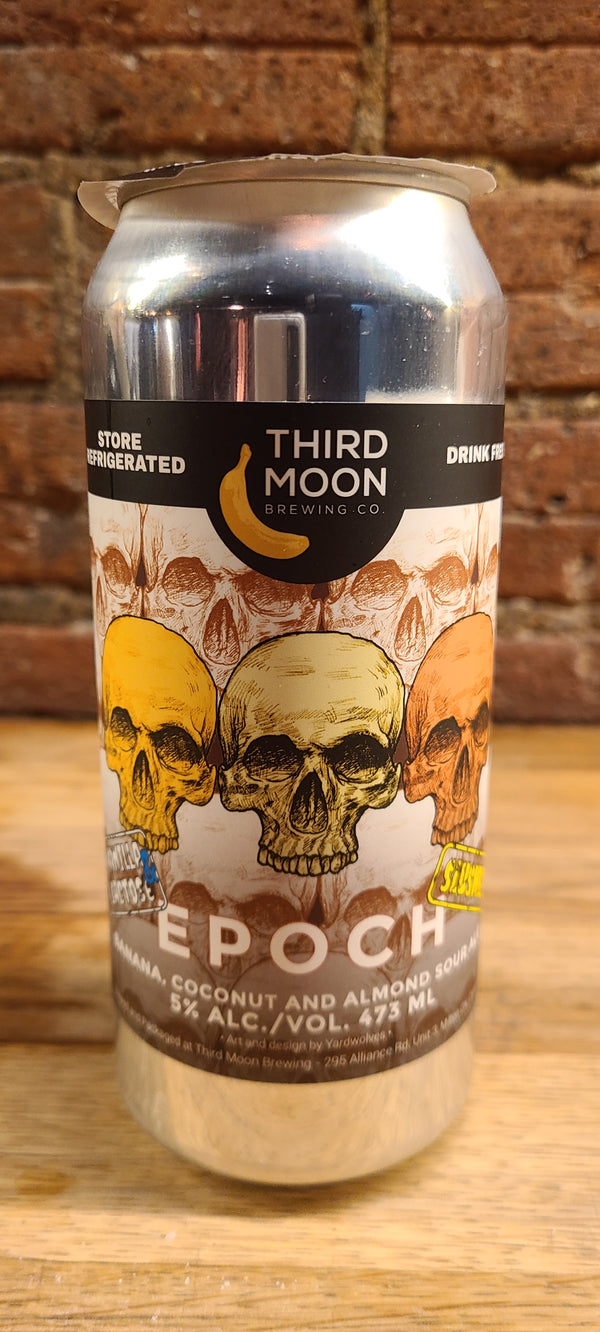 THIRD MOON EPOCH BANANA, COCONUT & ALMOND SOUR ALE
