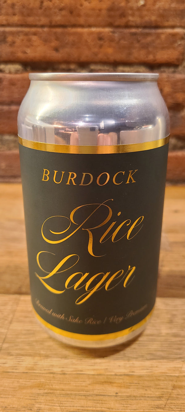 BURDOCK RICE LAGER