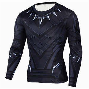 Winter Soldier Winter Long Sleeve Rash Guard