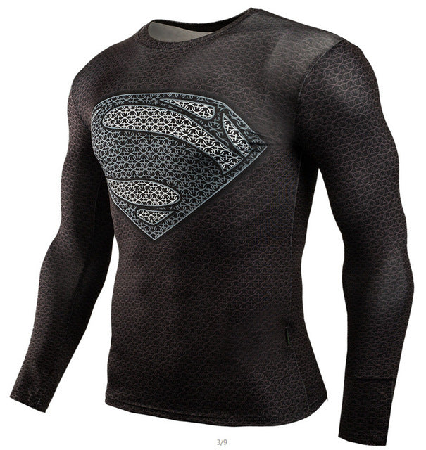 Superman Lex Luthor Long Sleeve Rash Guard