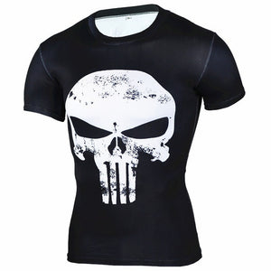 Punisher Short Sleeve Rash Guard
