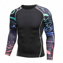 Kanji Sleeved Rash Guard