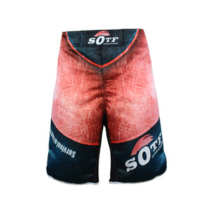 SOTF Red Ring of Death Fight Shorts