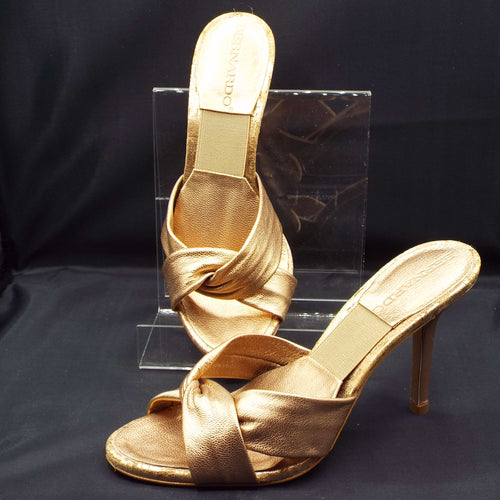 GOLD TWIST SANDAL
