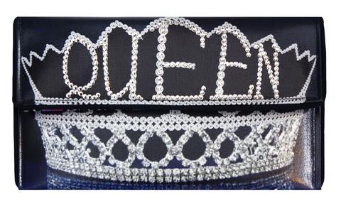 ART INSPIRED CLUTCHES | QUEEN BITCH CRYSTAL