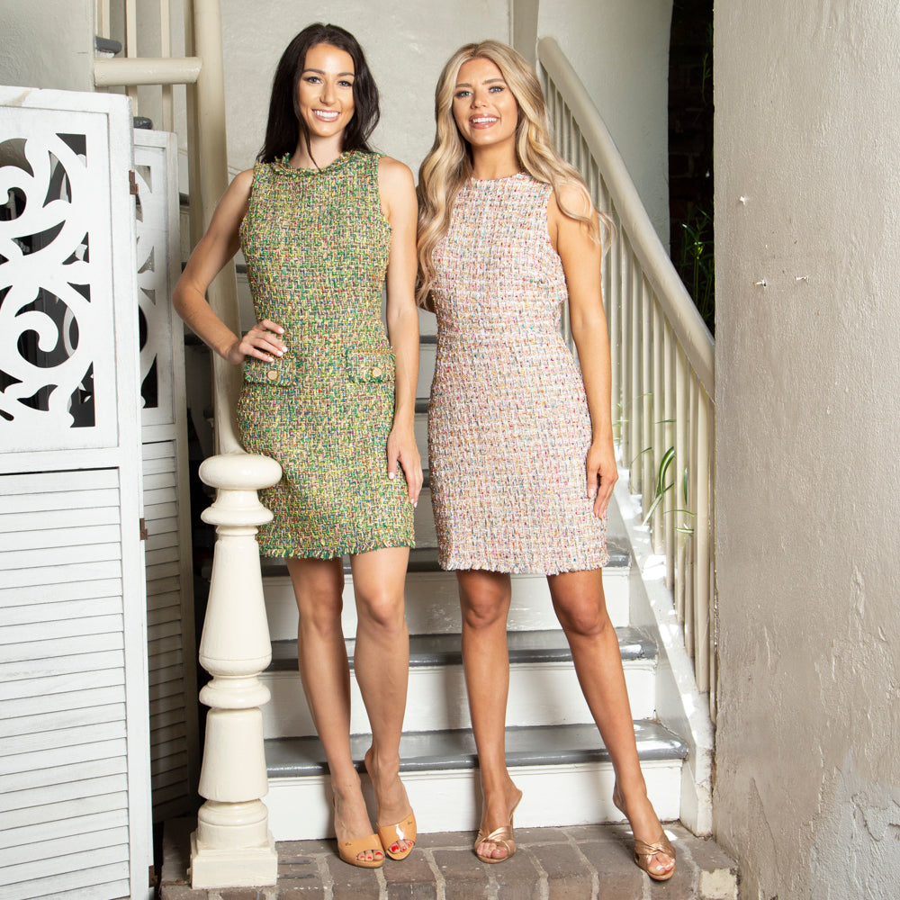 CHANEL INSPIRED TWEED DRESSES