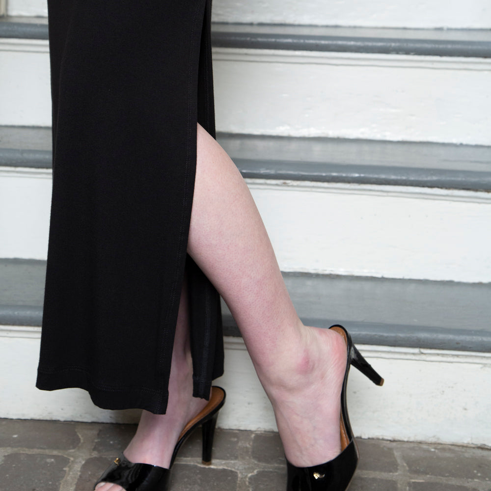 COUTURE SLIT SKIRT