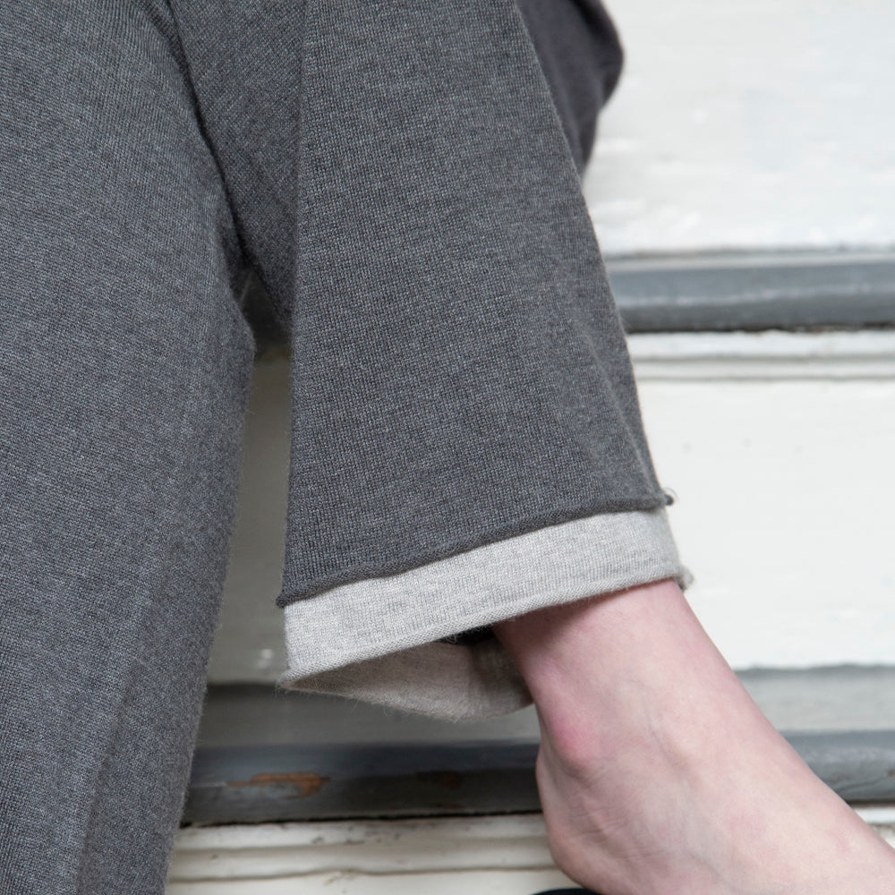 CASHMERE HOODIE & PANT | GREY