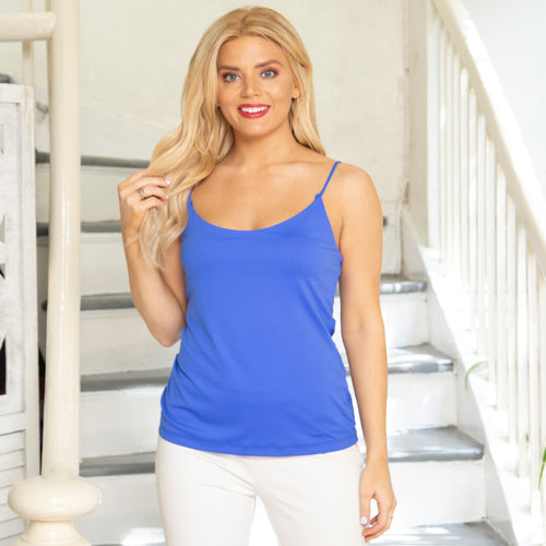 Camisole Top with Shelf Bra