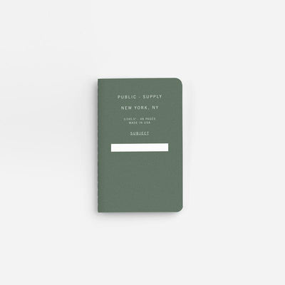 Green Pocket Notebook