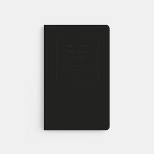 Public - Supply New York Embossed Black Notebook
