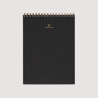 Linen Office Notepad