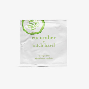 Cucumber Essential Oil Towelettes - Set of 2