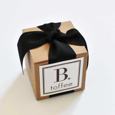 Handcrafted Chocolate Toffee — Black