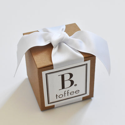 Handcrafted Chocolate Toffee — White