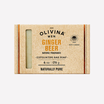 Olivina Men Ginger Beer Bar Soap