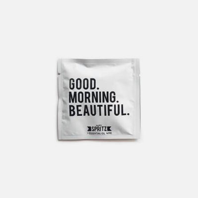 Good Morning Beautiful Essential Oil Towelette — Set of 2