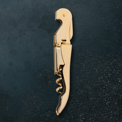 Viski Belmont Gold Plated Signature Corkscrew