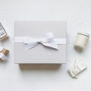 Ribbon: Signature White