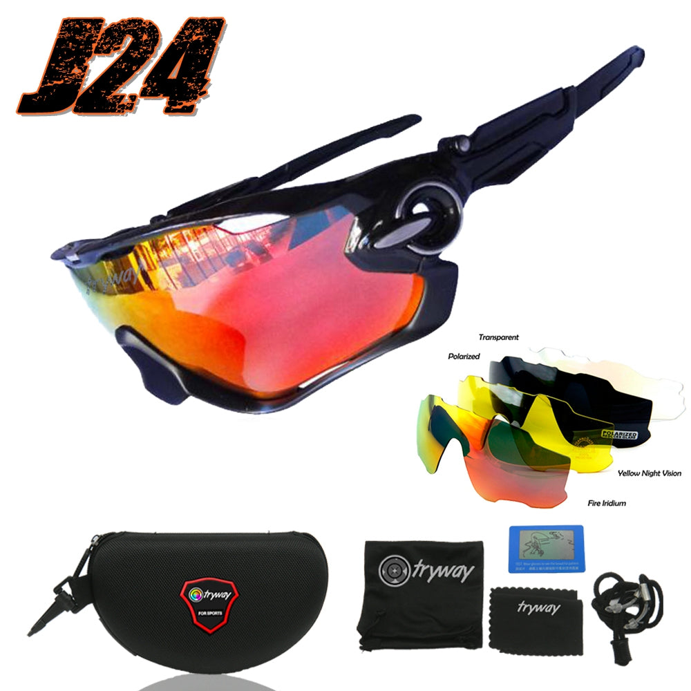 New Jawbreaker UV400 Polarized glasses Professional Cycling Sunglasses MTB Road Bike Bicycle Glasses TR90 Gafas Cicismo oculos de sol goggles
