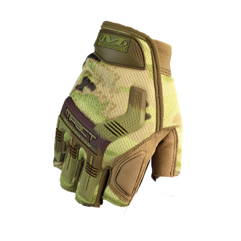 Outdoor Hunting gloves M-Pact Protection Glove Tactical Gloves Outdoor Sports half finger Military army Airsoft Shooting male gloves