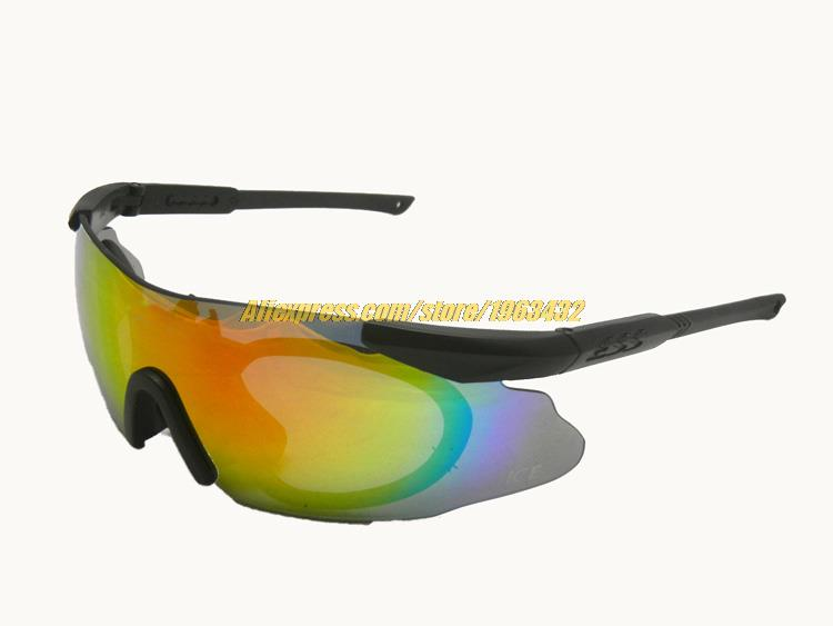 tactical ice 2 4 glasses 740 ballistic safety goggles tr90 combat