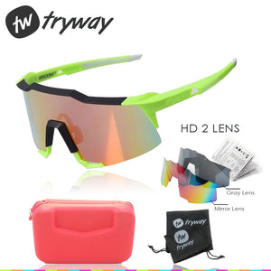 SpeedCraft cycling Sunglasses 2 lens UV400 outdoor motorcycles MTB Road ciclismo Cycling oculos