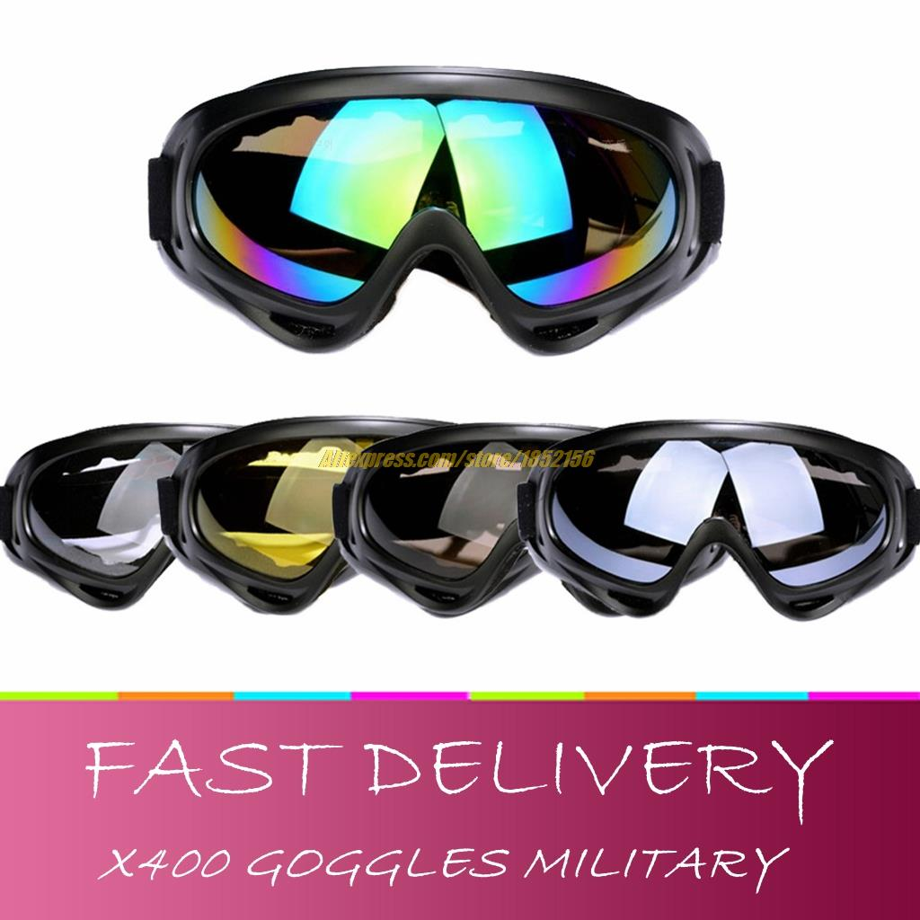 Military glasses army Airsoft shooting X400 Tactical Goggles Protection Anti-sandstorm ski gafas