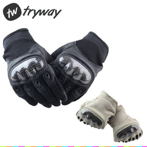Tactical Hunting Military gloves Army combat Knuckle shooting Full Finger wargame cycling Gloves
