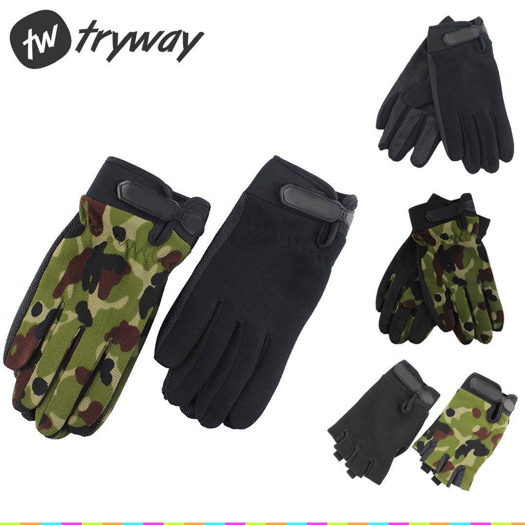 Tactical military Army Gloves outdoor Riding Gloves men Camouflage Ventilate guantes ciclismo gloves