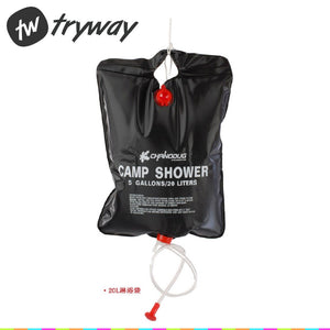 NEW Camp Shower 20L 5 Gallon Water Bags Super Solar Shower Camping Shower