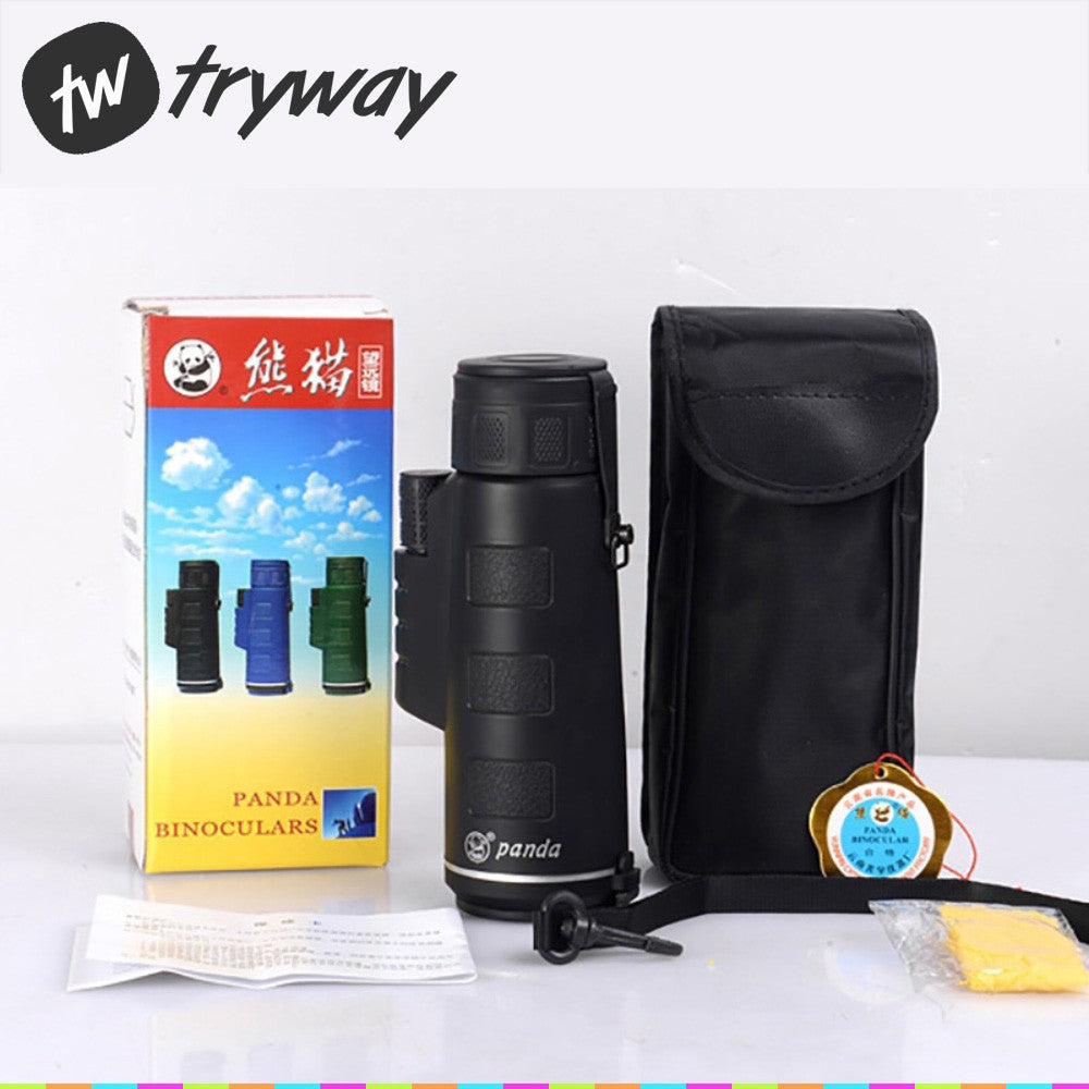 Telescope 35x50 Monocular zoom 40X mini telescope HD wide angle outdoor hunting Hand size binoculars