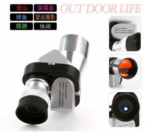 Mini Pocket 8x20 Monoculars Gleam Night Vision Telescope Scope 96M/1000M Scope telescope