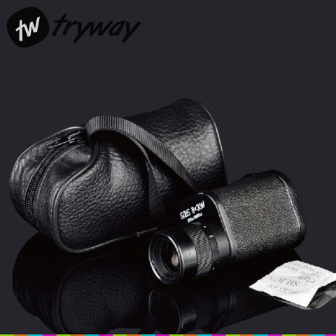 Baigish 8X30 telescope Top quality Monocular pocket Military HD ZOOM BK4 OPTICAL camping Telescope