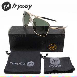 Polarized Aviator sunglasses Alloy 59mm Driving eyewear Police lifestyle UV400 Oculos de sol Classic glasses