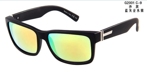 New sports von sunglasses Elmore oculos for men UV400 Anti-Reflective Oculos De Sol Glasses with box